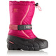 Sorel Flurry Boots Youth Deep Blush/Tropic Pink